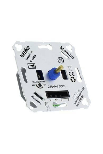 Univerzális LED fényerőszabályzó 230V, 5-600W, IP20