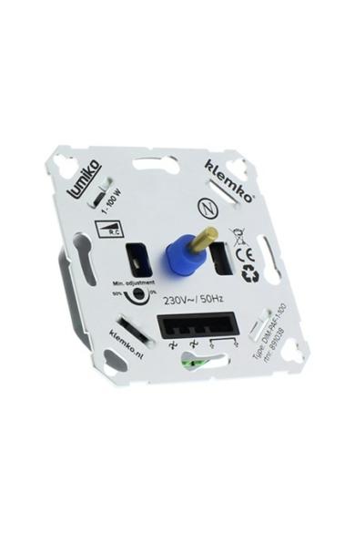 Univerzális (Legrand, Schneider..) LED fényerőszabályzó 230V, 1-100W, IP20, 891038