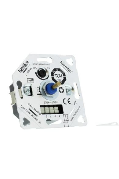 Univerzális (Legrand, Schneider..) LED fényerőszabályzó 230V, 1-100W, IP20, 891046