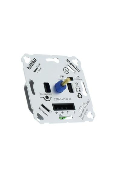 Univerzális (Legrand, Schneider..) fényerőszabályzó 230V, 1-200W LED, 1-400W Ohmikus, IP20, 891082