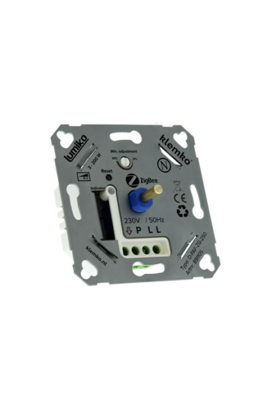 Univerzális (ZigBee) fényerőszabályzó 230V, ZigBee, 3-200W LED, IP20, 891105