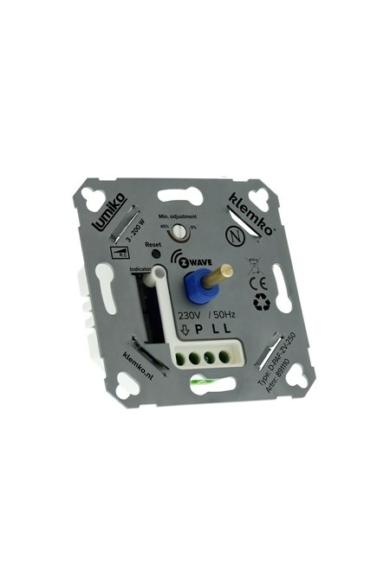Univerzális (Z-wave) fényerőszabályzó 230V, 3-200W LED, IP20, 891105