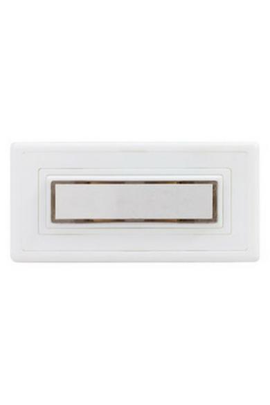 Csengő nyomógomb névtáblával 1-es fehér világítással