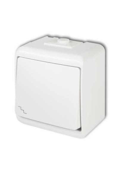 Aquastar váltókapcsoló, IP54, fehér
