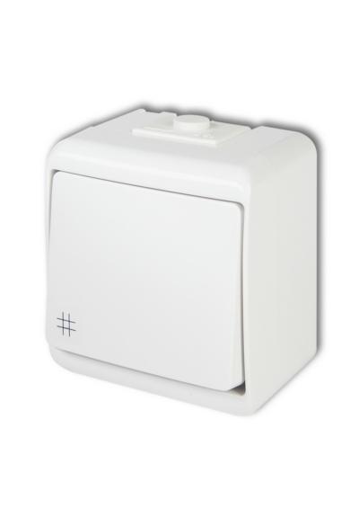 Aquastar keresztkapcsoló, IP54, fehér