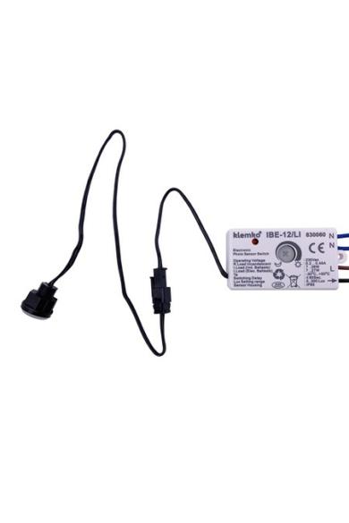 Mini alkonykapcsoló, IP65, beépíthető, 100W / 50W (LED), 830060