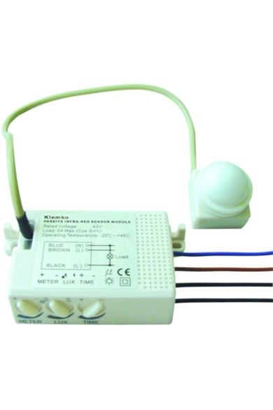 Mini mozgásérzékelő, 22mm, d=6m, 1000W, IP55, 870500