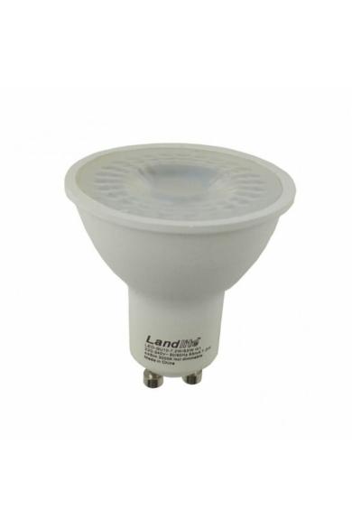 LANDLITE LED, GU10, 7,2W, 445LM, 3000K, SPOT FÉNYFORRÁS
