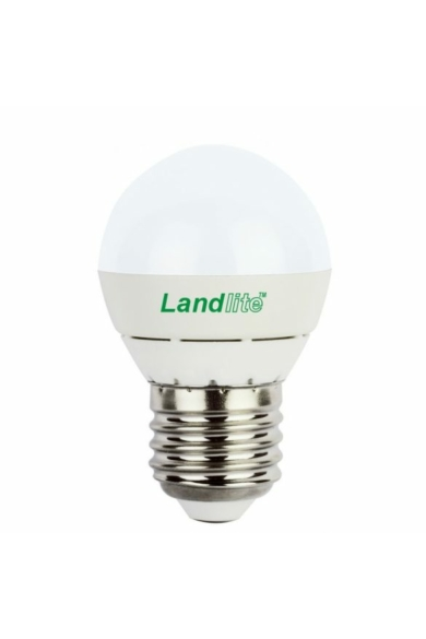 LANDLITE LED, E27, 4W, G45, 270LM, 2800K, KISGÖMB FORMÁJÚ FÉNYFORRÁS