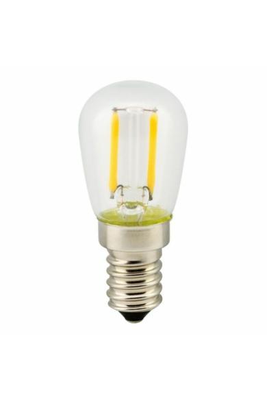 LANDLITE LED FILAMENT, E14, 2W, T26, 200LM, 2700K, HŰTŐSZEKRÉNY FÉNYFORRÁS