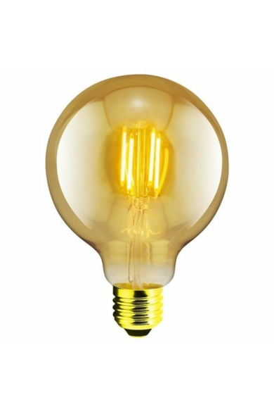 LANDLITE LED FILAMENT, E27, 4W, G95, 300LM, 1700K, EDISON FÉNYFORRÁS