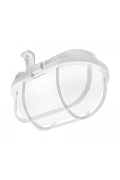 Oval LED, 5W, 630lm, IP44, műanyagrácsos hajólámpa