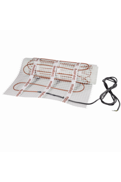 MATEC Fűtőszőnyeg, egyoldali betáplálással, 8,0m2: Zasmel MOJ-80; 150W/m2
