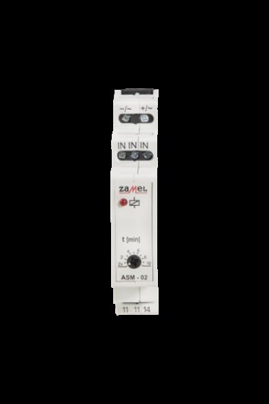 Lépcsőházi automata, 24V AC/DC, ASM-02/24V