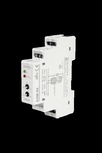 Lépcsőházi automata, teljesítmény korlátozóval, 230V AC, ASM-04
