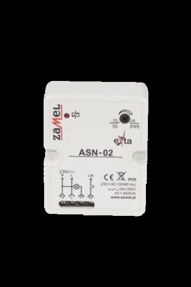 Lépcsőházi automata; IP20; 230V AC; falon kívüli; 16A, ASN-02