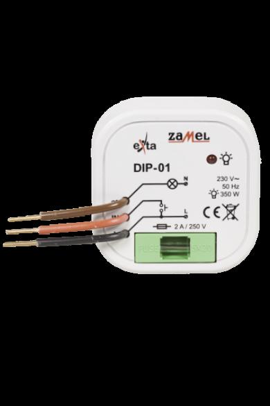 Fényerőszabályzó; IP20; 15-350W, 230V, DIP-01