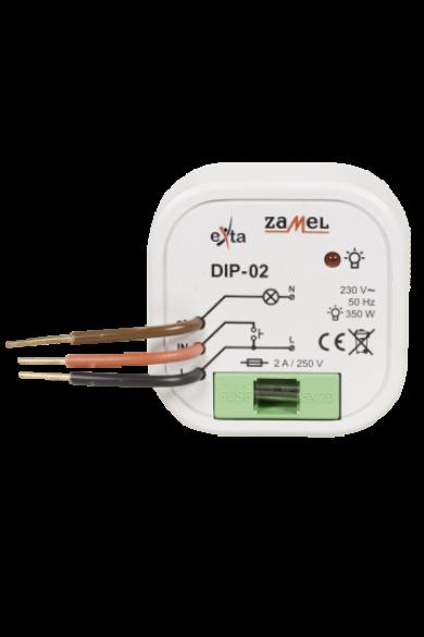 Fényerőszabályzó; IP20; 15-350W, 230V, memóriával, DIP-02