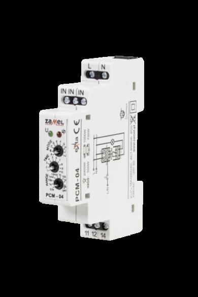Multifunkciós időrelé, 230V AC, PCM-04