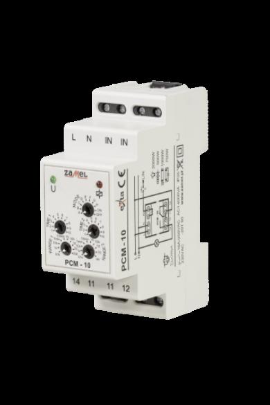 Multifunkciós időrelé, 230V AC, PCM-10