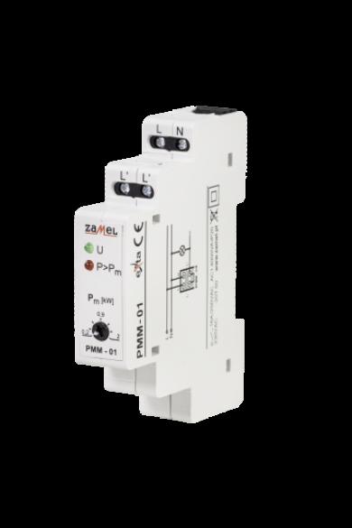 Teljesítmény határoló relé, 230V, 0,2-2KW, PMM-01