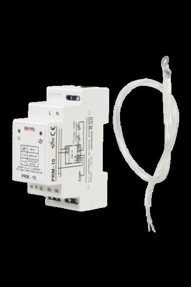 Hőmérséklet felügyeleti relé, PTC érzékelővel, 230V AC, PRM-10
