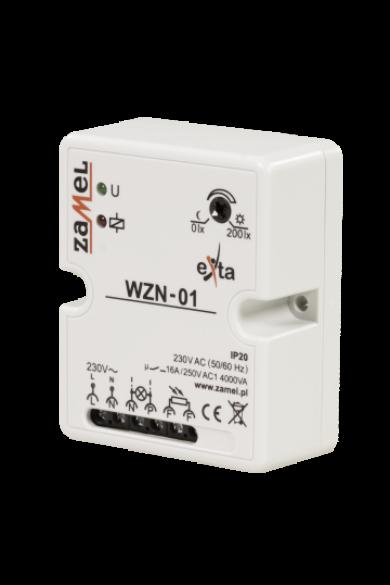 Alkonykapcsoló, felületre szerelhető, IP20, 230V AC, érzékelő nélkül, WZN-01