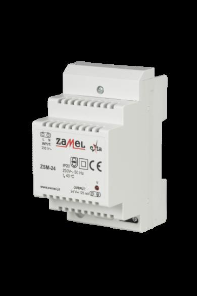 Stabilizált tápegység, 24V DC, 0,125A, ZSM-24