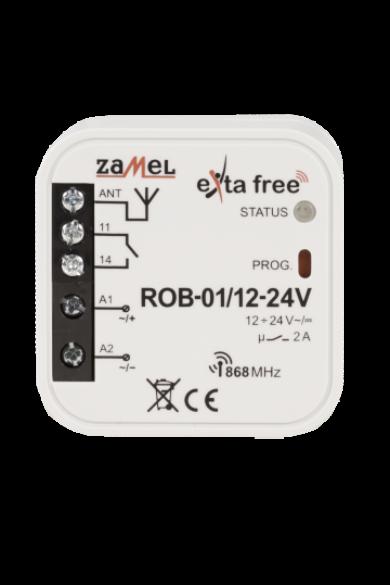 EXTA FREE univerzális kapumotor vezérlő 12-24V, ROB-01/12-24V