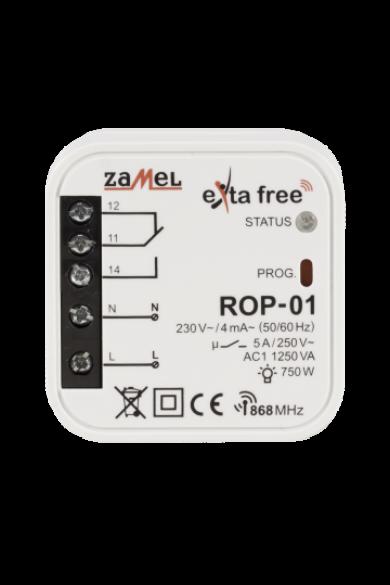EXTA FREE egycsatornás vevőegység, ROP-01