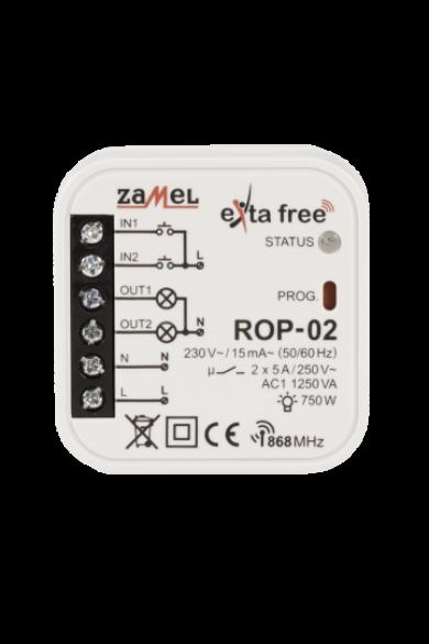 EXTA FREE kétcsatornás vevőegység, ROP-02