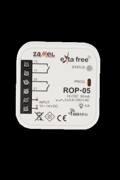 EXTA FREE kétcsatornás vevőegység, ROP-05