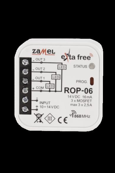 EXTA FREE háromcsatornás vevőegység, ROP-06