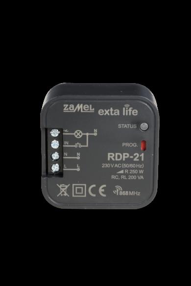 EXTA LIFE LED fényerőszabályzó, 250VA, 230V, RDP-21