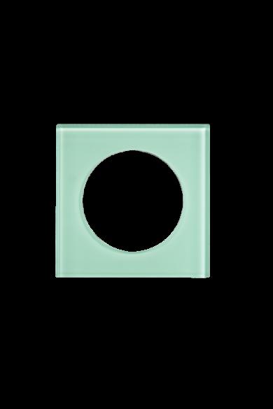 KONEKTO LED szimpla üveg keret, négyzet, mint, LSR-STK-X1