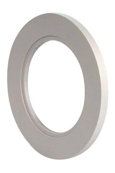 Konekto LED kerek keret, szürke, LSR-SZO-X1