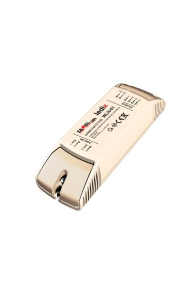 WLN-01, univerzális RGB erősítő, 10-14V DC, 4A, 4 kimenet