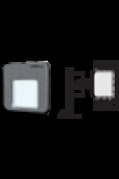 MOZA Ledix, Fekete szín, hidegf. 5900K, 230V, IP20, süllyesztett, fényerőszabályozható, 01-224-61