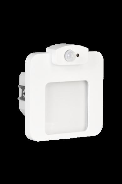 MOZA Ledix, Fehér szín, hidegf. 5900K, 230V, IP20, süllyesztett, mozgásérzékelővel, 01-222-51