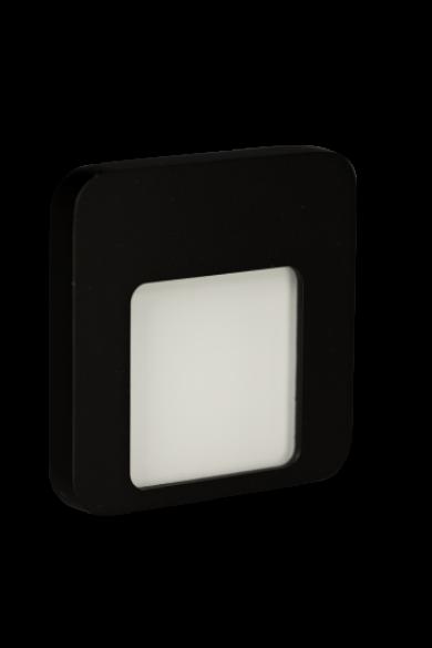MOZA Ledix, Fekete szín, melegf. 3100K, 14V, IP44, felületre szerelhető, 01-111-62
