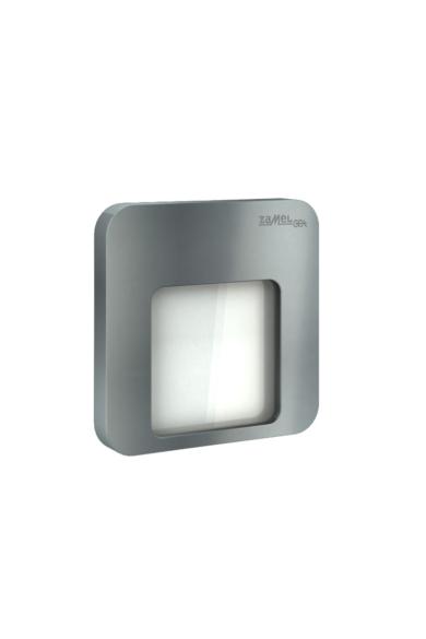 MOZA Ledix, Grafit szín, hidegf. 5900K, 230V, IP20, süllyesztett, fényerőszabályozható, 01-224-31
