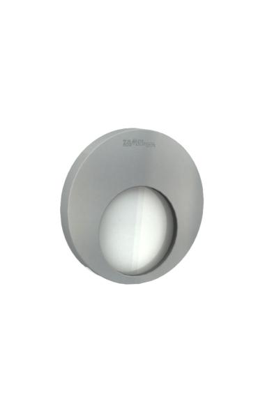 MUNA Ledix, ALU szín, melegf. 3100K, 230V, IP20, süllyesztett, fényerőszabályozható, 02-224-12