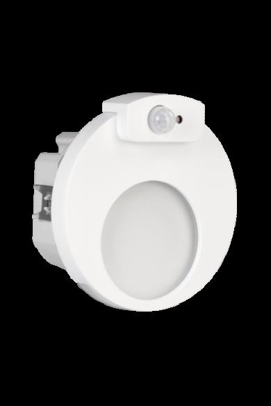 MUNA Ledix, Fehér szín,  hidegf. 5900K, 230V, IP20, süllyesztett, mozgásérzékelővel, 02-222-51