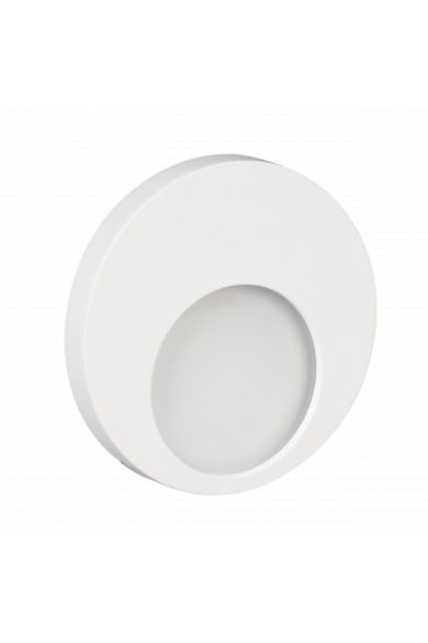 MUNA Ledix, Fehér szín, melegf. 3100K, 14V, IP20, süllyesztett, fényerőszabályozható, 02-214-52
