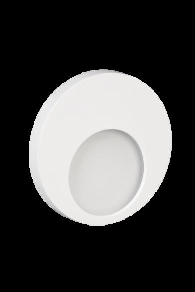MUNA Ledix, Fehér szín,  melegf. 3100K, 230V, IP20, süllyesztett, 02-221-52