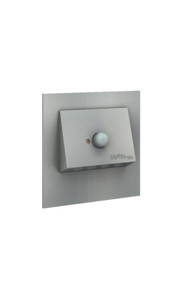 NAVI Ledix, ALU szín, melegf. 3100K, 230V, IP20, süllyesztett, mozgásérzékelővel, 11-222-12