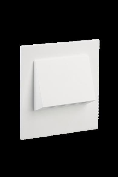 NAVI Ledix, Fehér szín, hidegf. 5900K, 230V, IP20, süllyesztett, fényerőszabályozható, 11-224-51