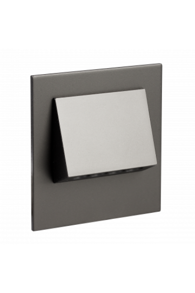 NAVI Ledix, Fekete szín,  hidegf. 5900K, 230V, IP20, süllyesztett, 11-221-61