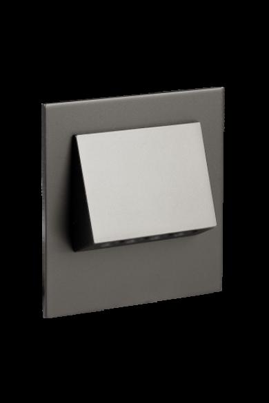 NAVI Ledix, Fekete szín, hidegf. 5900K, 230V, IP20, süllyesztett, fényerőszabályozható, 11-224-61