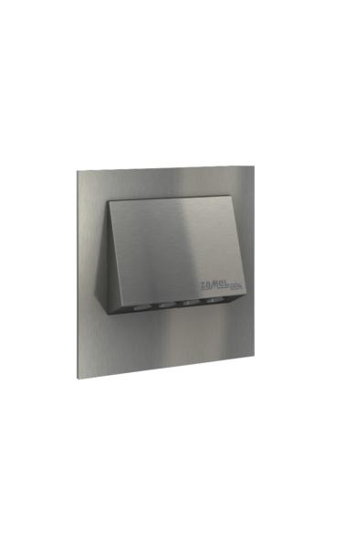 NAVI Ledix, Rozsdamentes szín, melegf. 3100K, 14V, IP56, felületre szerelhető, 11-111-22